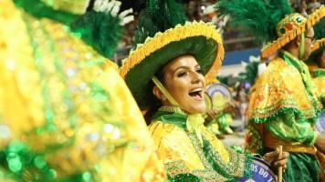 DNT 07-02-2016 SAO PAULO - SP / CIDADES METROPOLE OE / CARNAVAL SP 2016 / ACADEMICOS DO TUCURUVI - Escola de Samba Academicos do Tucuruvi na segunda noite de desfiles do Grupo Especial no sambodromo do Anhembi em Sao Paulo - FOTO DANIEL TEIXEIRA/ESTADAO